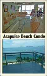 Acapulo Mexico beach vacation rentals