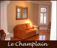 Montreal vacation rental plus executive rental, fully furnished and equipped, 2-brm