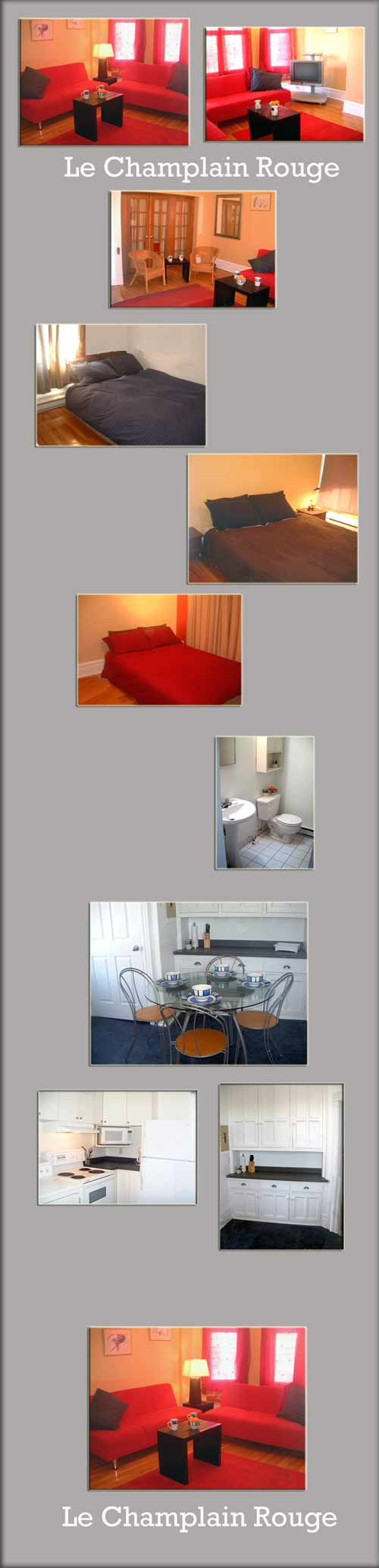 Montreal vacation rental plus executive and international student rental - Quartier Latin condo apt
