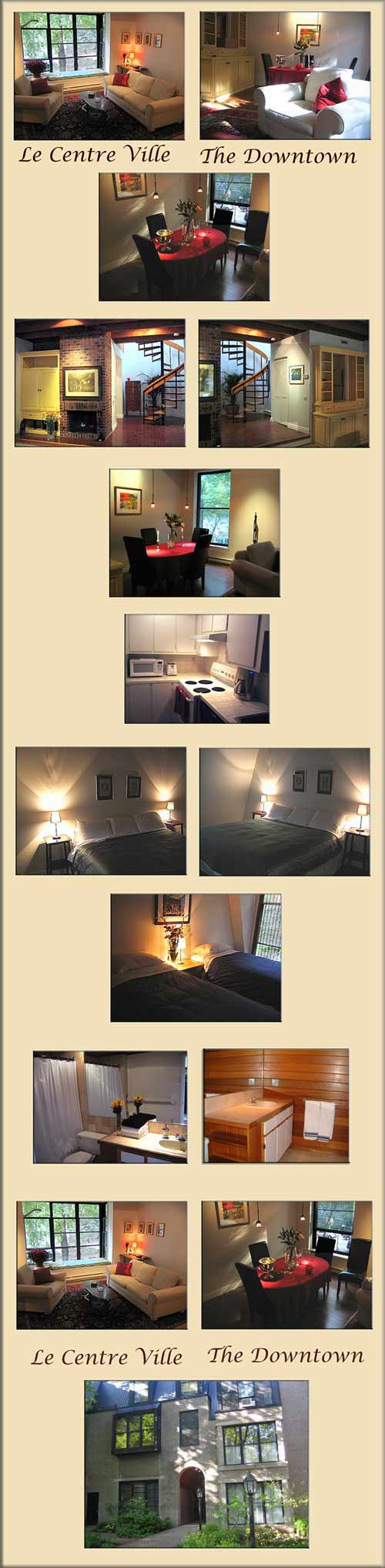 Montreal short term rental, Plateau, 3 brm - trendy Montreal vacation rental