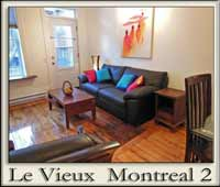 Old Montreal luxury apartment