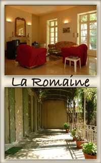 La Romaine, Nimes villa, Gard gite - 3 brm, large garden